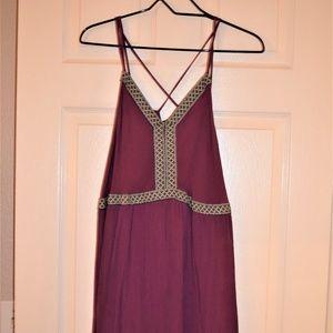 Women's Short Purple Xhilaration Dress XXL (L)